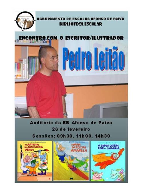 Encontro_pedro Leitao_Cartaz