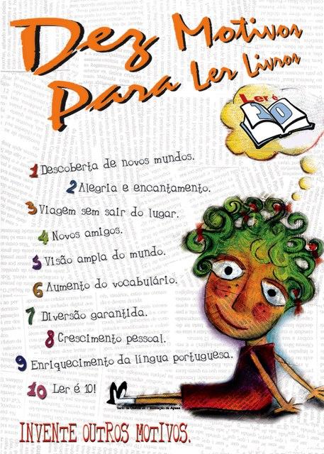 10 motivos para ler um livro