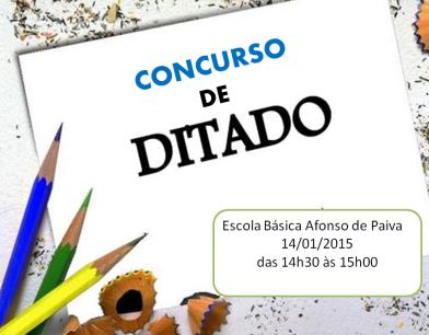 Concurso de Ditado_Cartaz