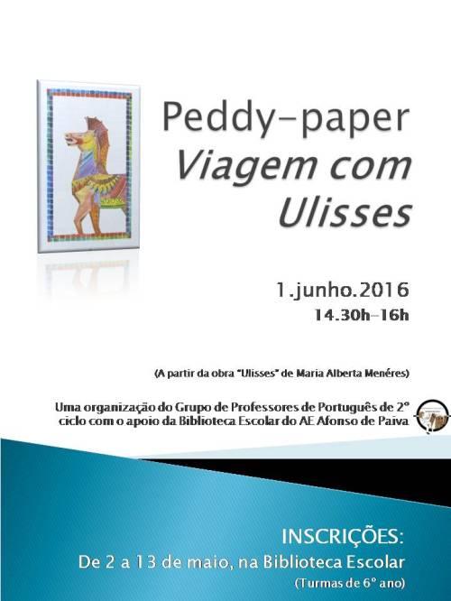 Peddy-paper Viagem com Ulisses